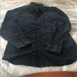 Banana republic men's slim fit button down size L